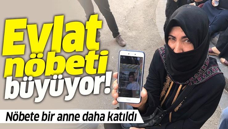 Diyarbakır HDP binası önünde evlat nöbeti tutan aile sayısı 35'e yükseldi.