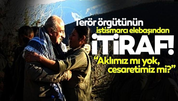 Son dakika haberi... PKK'nın tecavüzcü elebaşından itiraf: Bizi yok ediyorlar