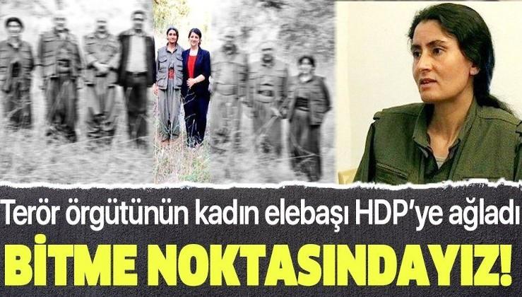 SON DAKİKA: PKK'nın kadın elebaşı Hülya Oran HDP'ye ağladı: Bitme noktasındayız
