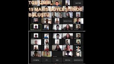 TGB İzmir, 19 Mayıs Söyleşisinde Buluştu