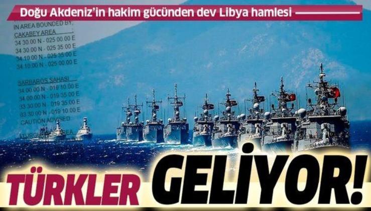 Son dakika: Türkiye'den Libya'da dev hamle: Deniz Kuvvetleri tatbikata hazırlanıyor