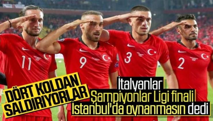 İtalya, Devler Ligi'nin Türkiye'den alınmasını istedi
