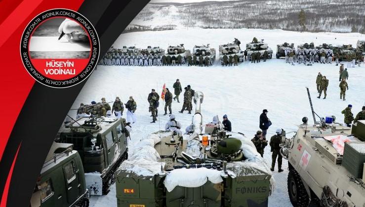 Kutuplarda dünya savaşı: ABD/İngiltere, Rusya/Çin'e karşı!