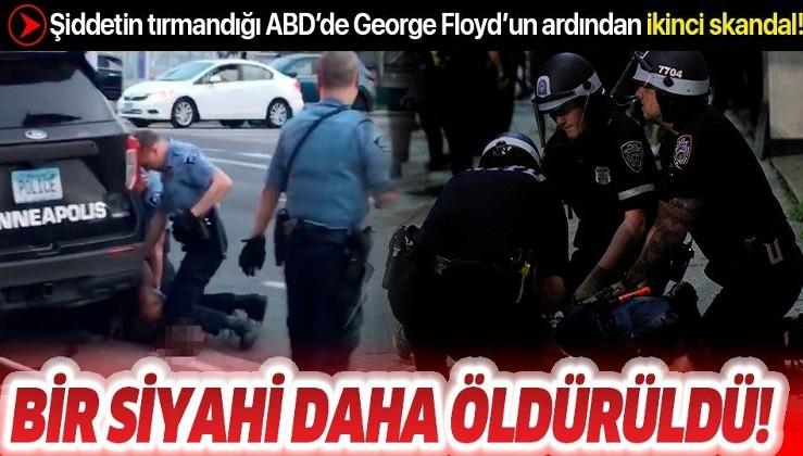 Son dakika: ABD'de George Floyd'un ardından bir siyahi daha öldürüldü!