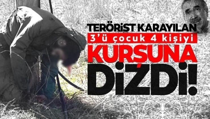 Son dakika: Murat Karayılan 4 çocuğu infaz edip timsah gözyaşı döktü!