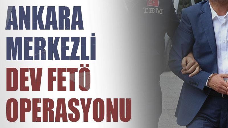 Ankara merkezli 43 ilde FETÖ operasyonu