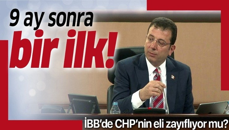 Ekrem İmamoğlu 9 ay sonra ilk defa meclis toplantısına katılmadı! CHP'li Meclis üyelerinden tepki!