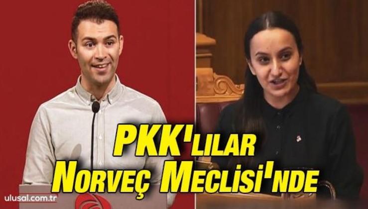 PKK'lılar Norveç Meclisi'nde