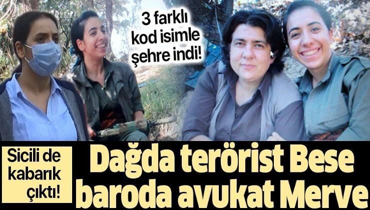 Dağda terörist Bese baroda avukat Merve: Terörist Avukat Merve Nur Doğan'ın sicili kabarık çıktı!