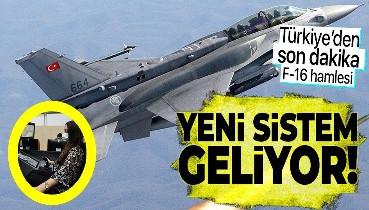 Türkiye'den son dakika F-16 hamlesi! HAVELSAN kolları sıvadı! Yeni sistem geliyor!