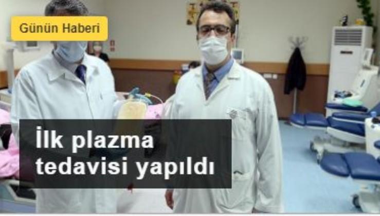 Türkiye'nin ilk plazma tedavisi Malatya'dan