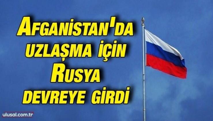Afganistan'da uzlaşma için Rusya devreye girdi