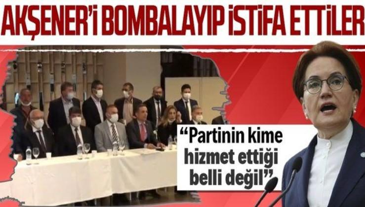 İYİ Parti istifa depremi! Gerekçe FETÖ/HDPKK!