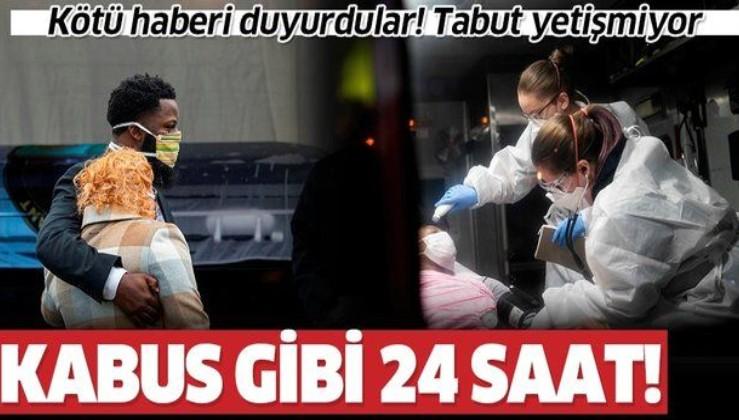 Son dakika: ABD'de koronavirüs bilançosu ağırlaşıyor: 24 saatte 6 bin 87 kişi hayatını kaybetti
