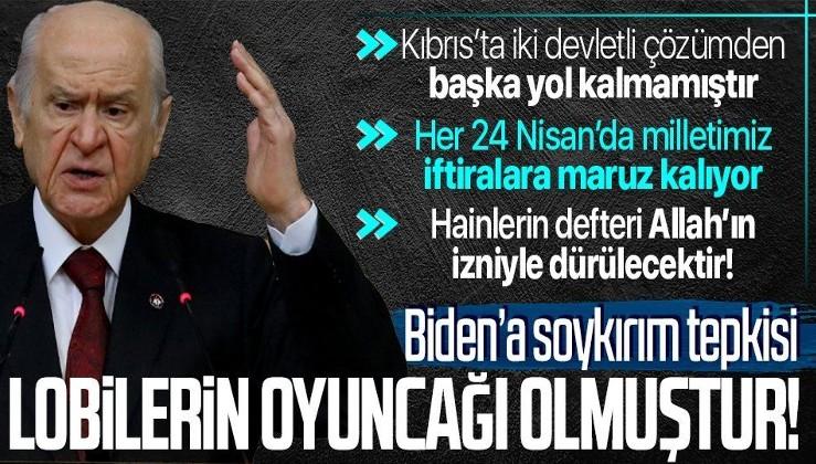SON DAKİKA! MHP Genel Başkanı Devlet Bahçeli'den grup toplantısında önemli açıklamalar