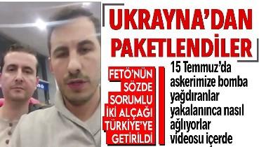 FETÖ'nün sözde Bağdat sorumlusu Salih Fidan ile sözde Erbil sorumlusu Samet Güre Türkiye'ye paketlendi