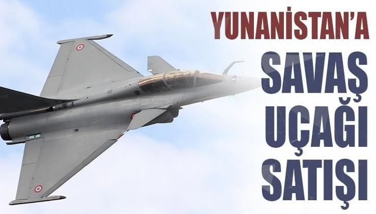 Fransa'dan Yunanistan'a yeni savaş uçağı satışı
