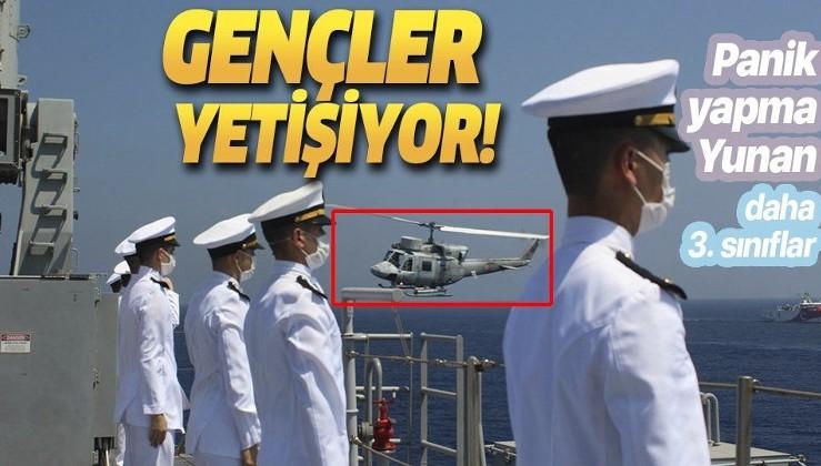 Son dakika: MSB görüntüleri paylaştı: Doğu Akdeniz'de deniz eğitimleri icra edildi