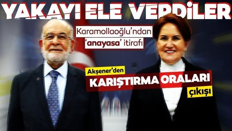 Temel Karamollaoğlu'ndan 'anayasa' itirafı! Meral Akşener anında müdahale etti
