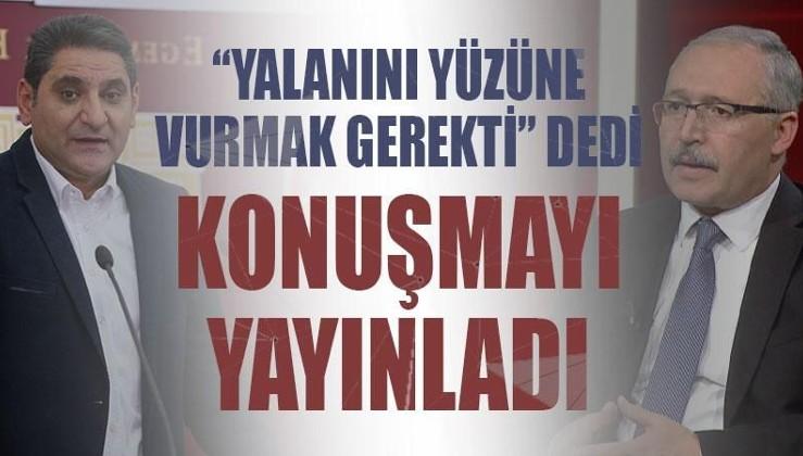 Abdülkadir Selvi, Aykut Erdoğdu'nun Erdoğan için 'ölsün istiyorum' dediği konuşmayı yayınladı