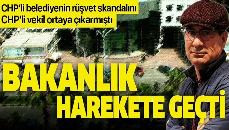 CHP'li vekil Yıldıray Sapan'ın CHP'li belediyeye 2 milyonluk rüşvet suçlamasında flaş gelişme! İçişleri Bakanlığı harekete geçti