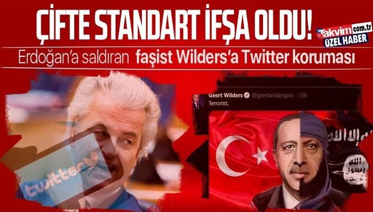 Twitter'ın Türkiye'ye karşı uyguladığı çifte standart faşist Geert Wilders'ın