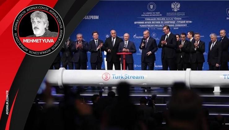 Türk akım projesi ve Erdoğan Putin zirvesi