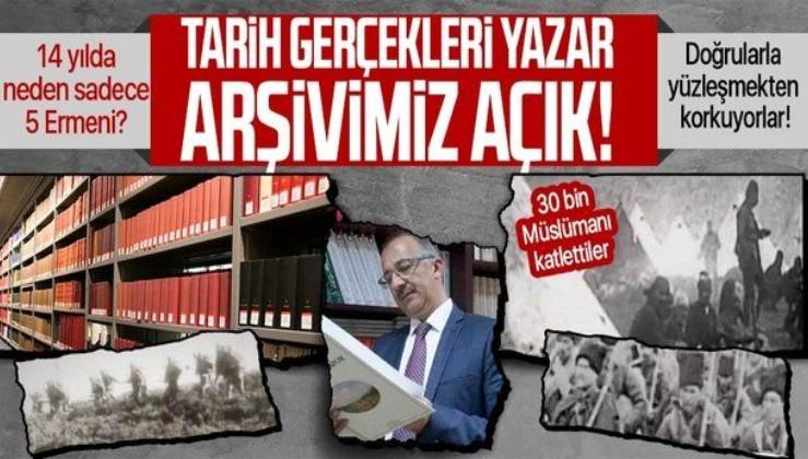 """Cumhurbaşkanlığı Devlet Arşivleri Başkanı Prof. Dr. Uğur Ünal açıkladı: """"14 yılda Ermenistan'dan 5 araştırmacı geldi"""""""