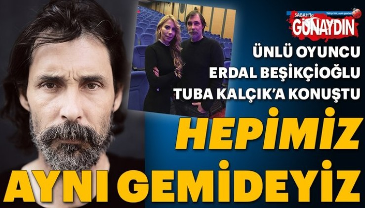 Erdal Beşikçioğlu: Devletim bana 'Güneydoğu'da yapacaksın askerliğini' dedi, gittim, yaptım. 'Bu vatan için öl' deseydi de ölürdük
