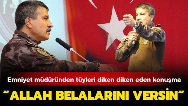Trabzon Emniyet Müdürü konuştu, tüyler diken diken oldu