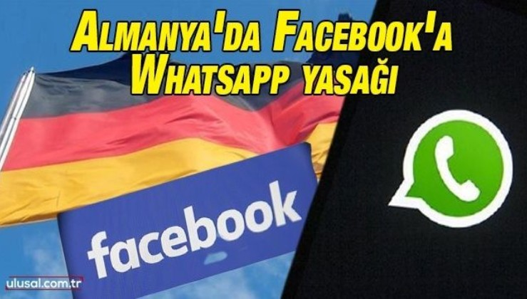 Almanya'da Facebook'a Whatsapp yasağı