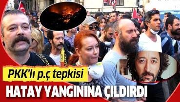 Fettah Can: Bu yangını başlatan PKK'lı p.çlerin bulunup o ormanda benzin dökülüp yakılması lazım