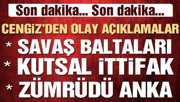 Mustafa Cengiz'den flaş Fatih Terim açıklaması: 'Bize karşı ittifak kurdular'