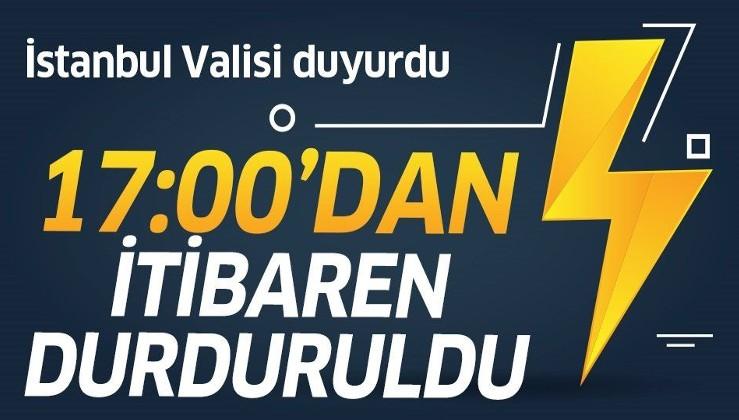 Son dakika: İstanbul Valisi Ali Yerlikaya duyurdu:.