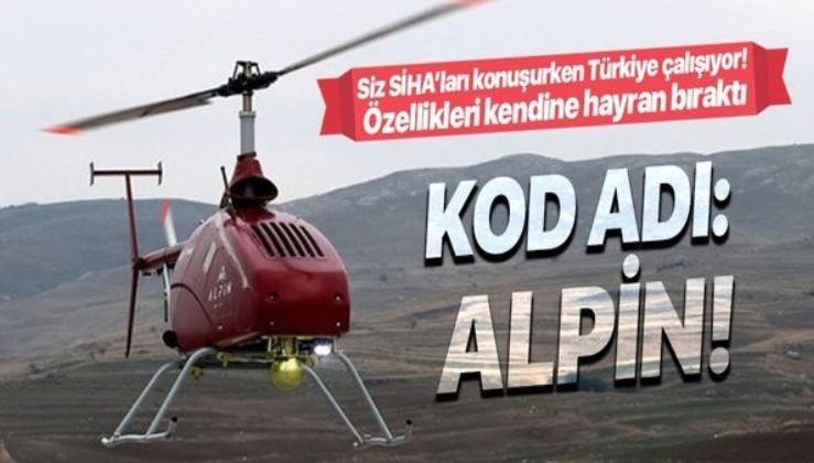 Türkiye'den savunma sanayiide bir hamle daha! Alpin İnsansız Helikopteri'nin seri üretim tarihi açıklandı