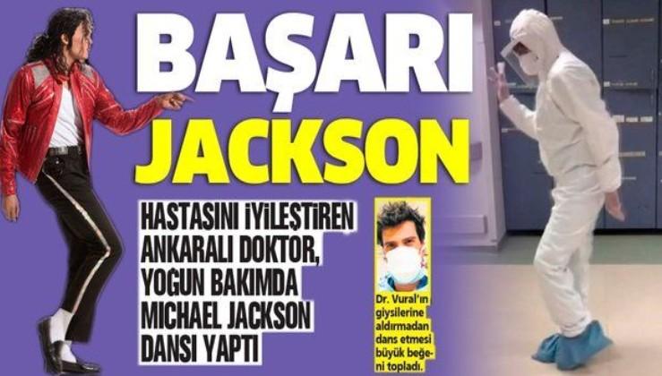 Koronavirüs hastasında iyileşme gören doktor Michael Jackson dansı yaptı