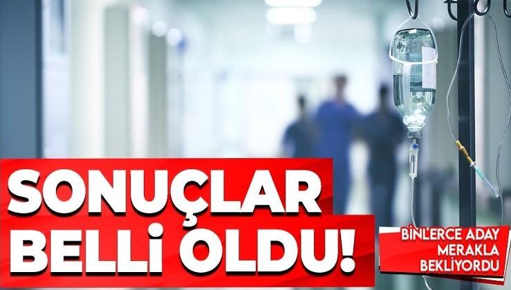 SON DAKİKA: Sağlık Bakanlığı personel yerleştirme sonuçları açıklandı   http://sonuc.osym.gov.tr yerleştirme sonucu sorgulama