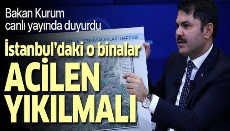 Son dakika: Çevre ve Şehircilik Bakanı Murat Kurum'dan Van depremi açıklaması.