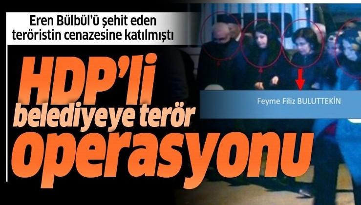 Son dakika: Diyarbakır Sur Belediye Başkanı Filiz Buluttekin gözaltına alındı.